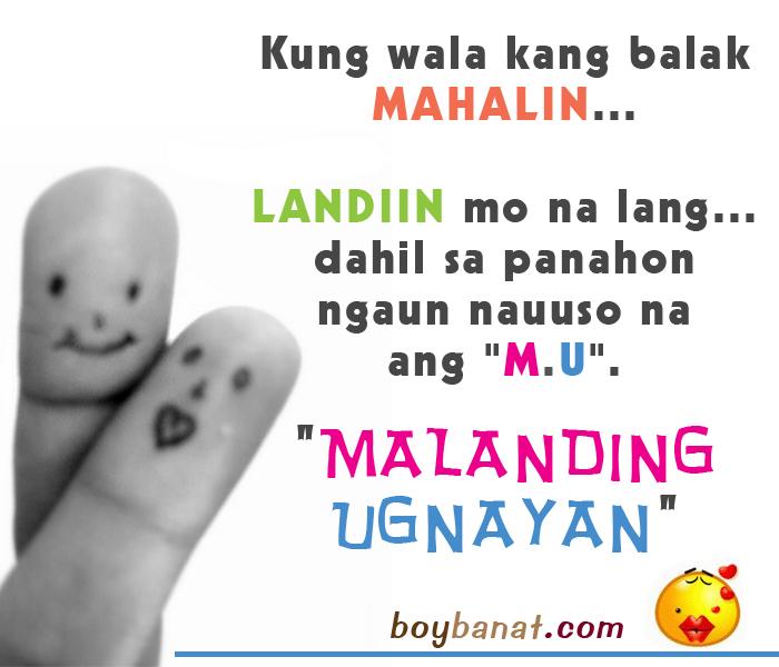 Love Quotes Tagalog Sweet Jokes