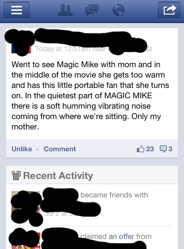 Magic Mike Jokes