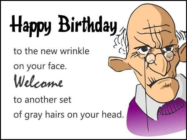 Old Age Birthday Jokes