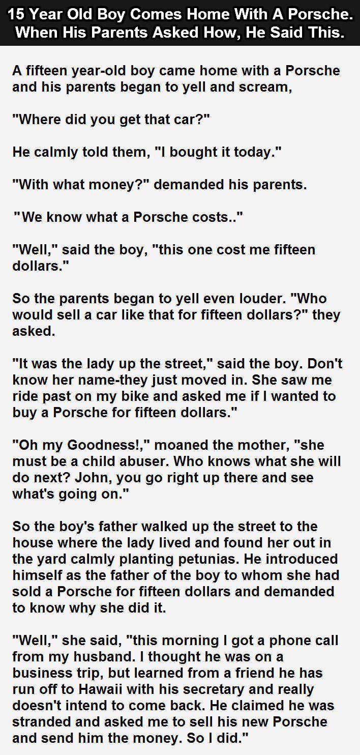 Funny short story Jokes