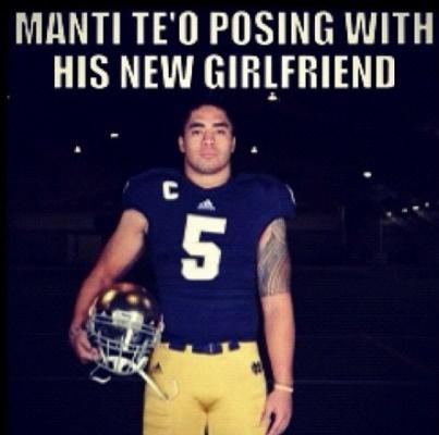 Manti teo eharmony dating