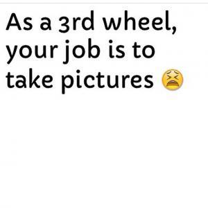 Third wheel Jokes