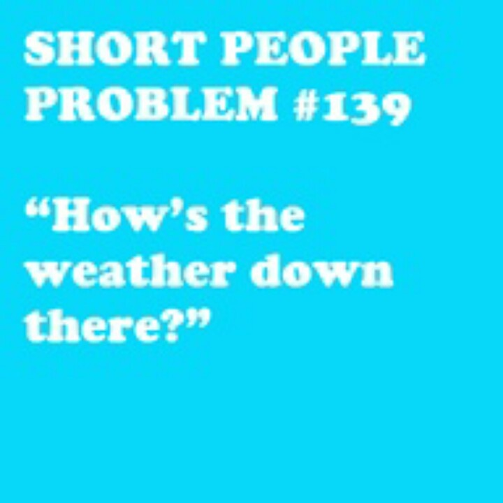 funny short girl jokes