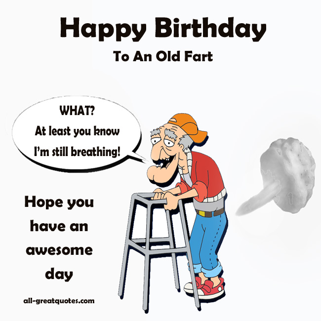 happy birthday old man jokes