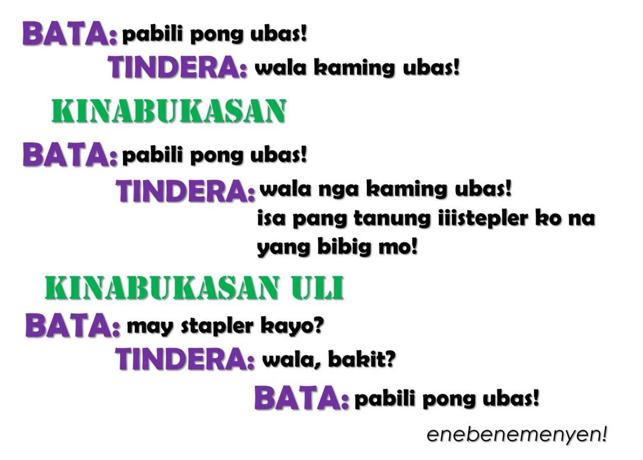 Tagalog green Jokes