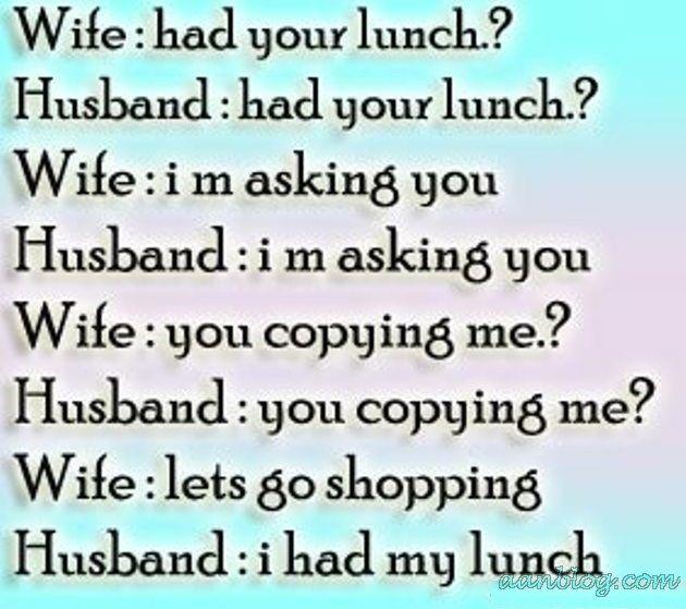Good Husband Wife Jokes