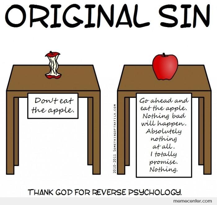 Jokes reverse psychology Reverse Psychology