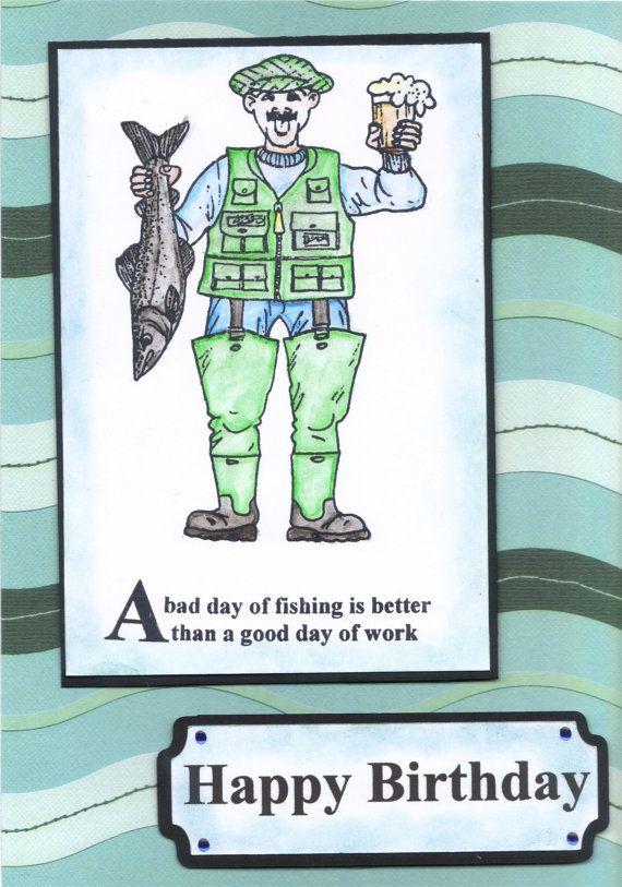 Handmade Funny Humorous Mens Birthday Card By