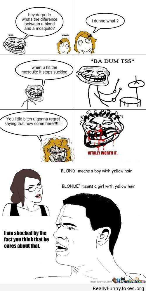 Blonde mom Jokes