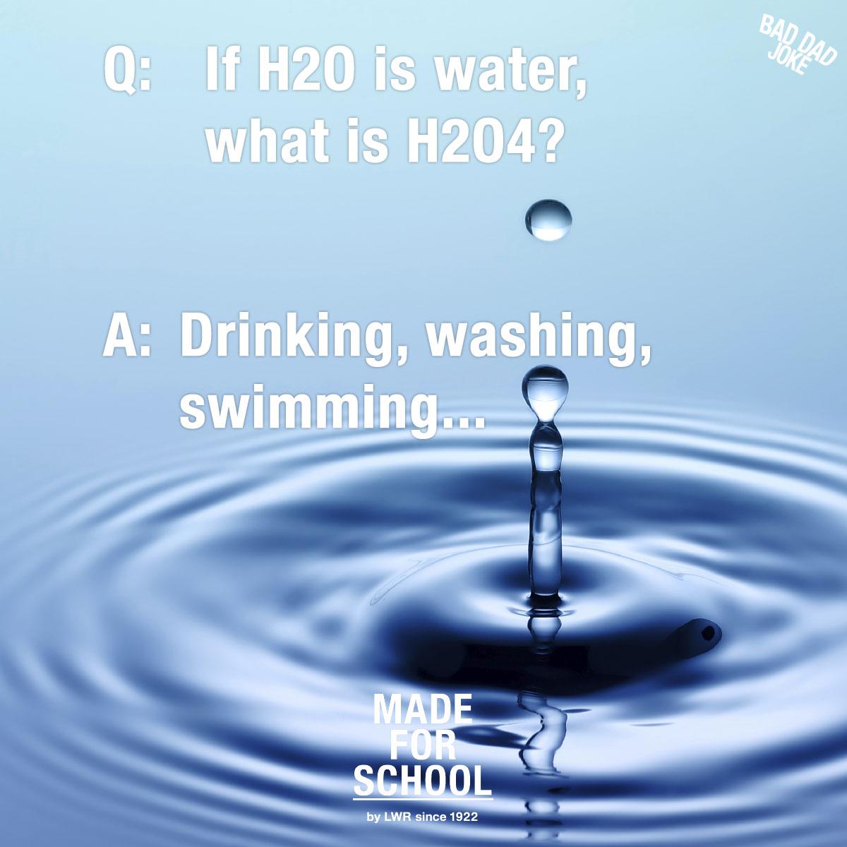 Water Jokes