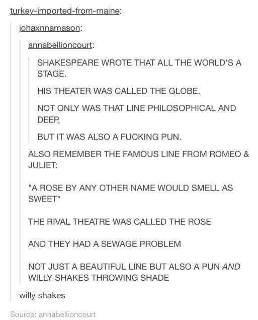 Shakespeare Jokes