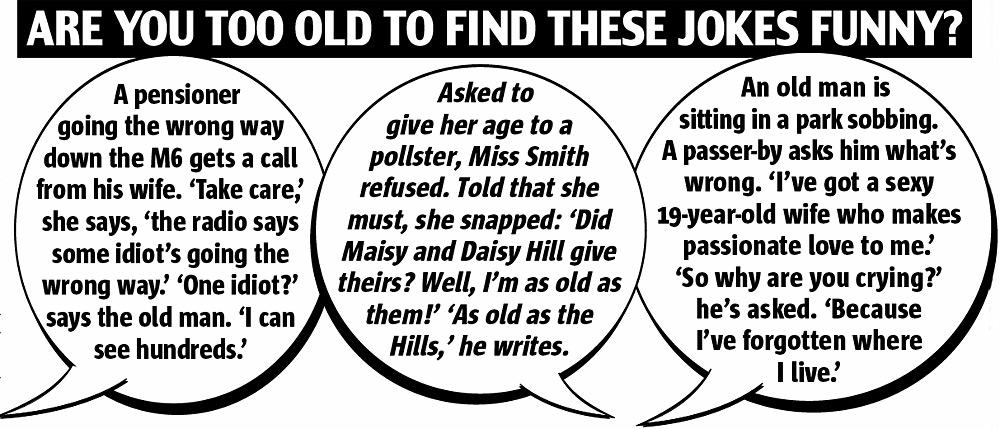 You so old Jokes