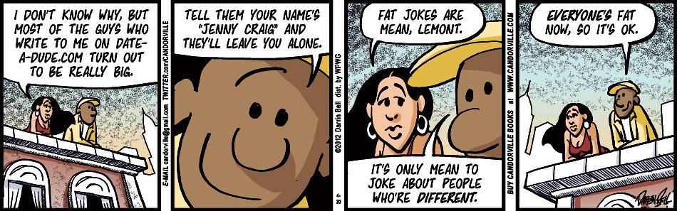 Jokes mean fat people 84+ Dark