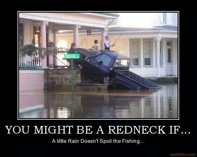 You mite be a redneck if
