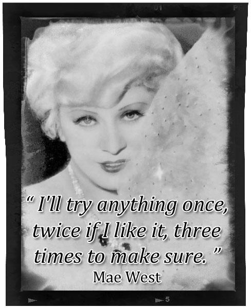 Mae West Jokes