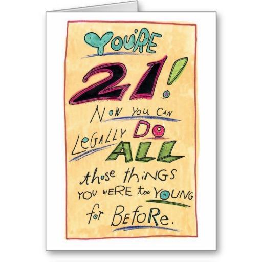 Happy 21st Birthday Jokes