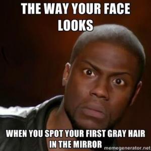 Gray Hair Jokes