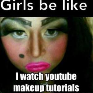 Cake Face Makeup, s, Mugeek Vidalondon