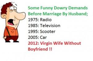 Dowry Jokes