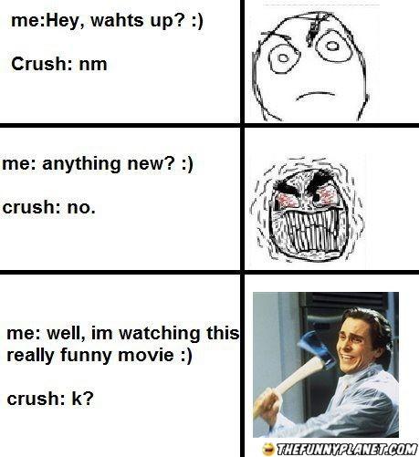 Funny crush Jokes