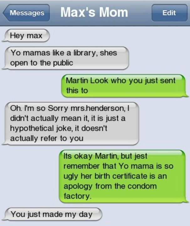 Hilarious Yo Mama Jokes