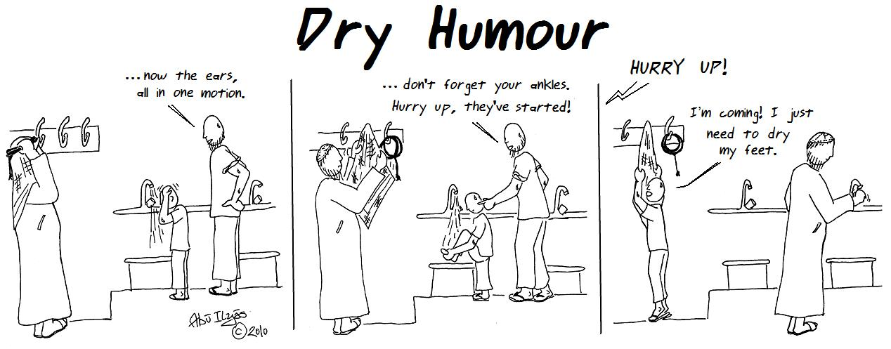 Dry wit examples
