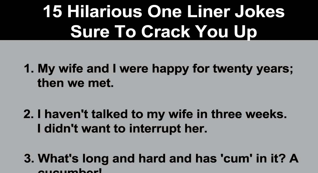 Anti dating jokes one-liners