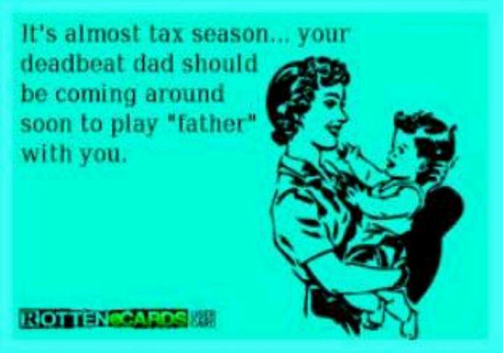 Deadbeat dad Jokes