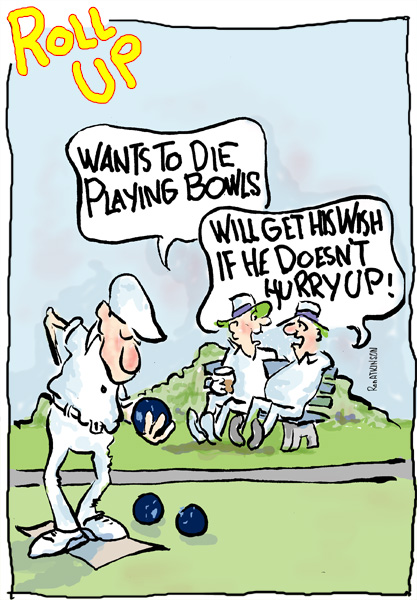 Lawn Bowls Jokes
