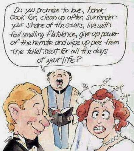 Funny christian marriage jokes