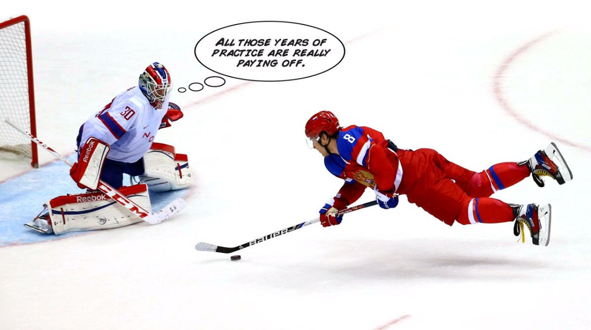 Ice Hockey Jokes