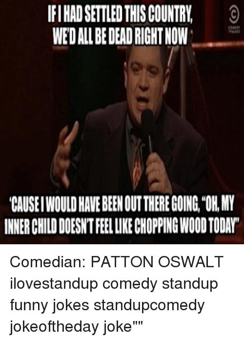 Patton Oswalt Jokes