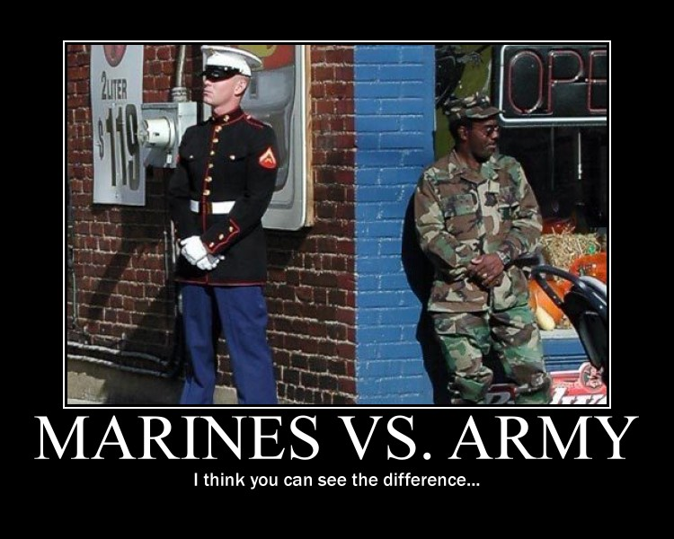 Marines stands for joke