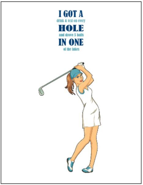Lady Golfer Jokes