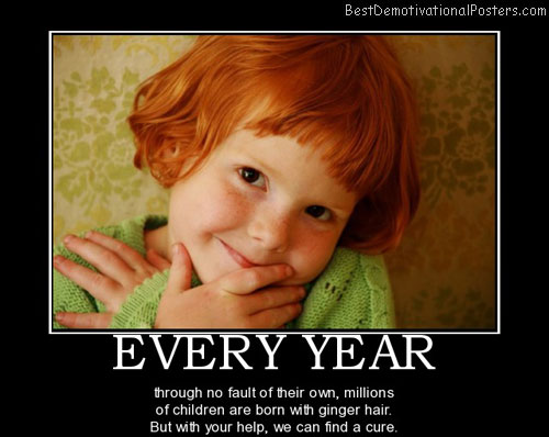 gingers are the best