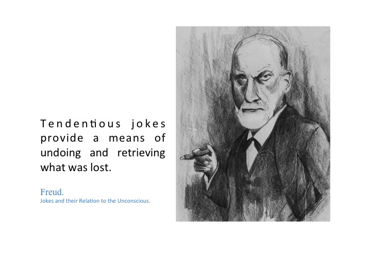 The joke and its relation to the unconscious (penguin classics.