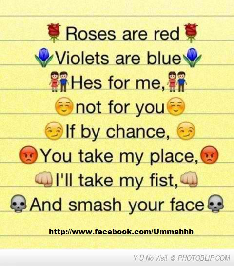 roses are red violets are blue funny jokes