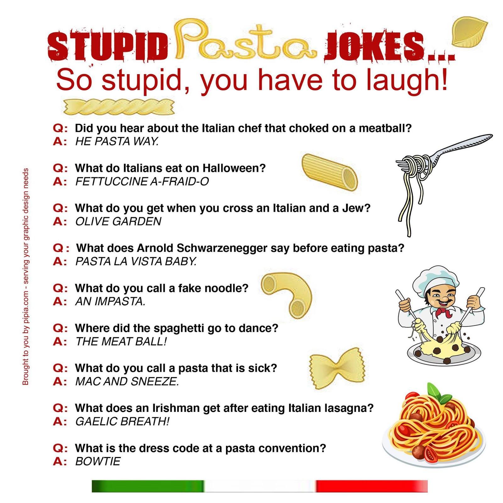 pasta jokes