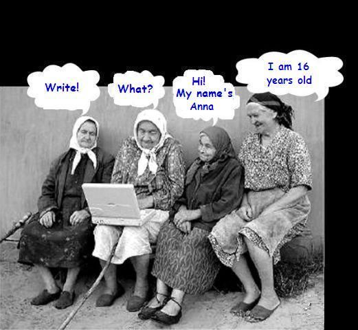Funny old women photos