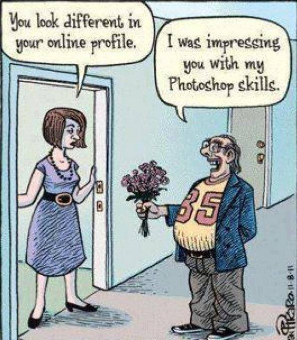 online dating joke