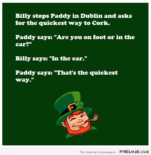 Adult irish joke