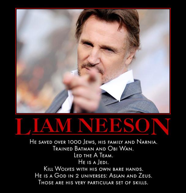Liam Neeson Jokes