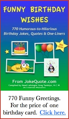 Funny 60th Birthday Jokes