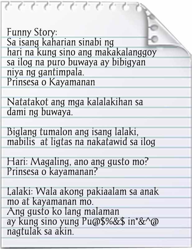 Pinoy story Jokes