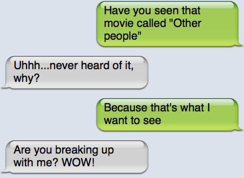 Funny break up Jokes
