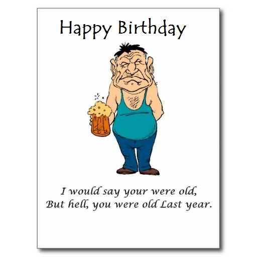 Old Happy Birthday Jokes