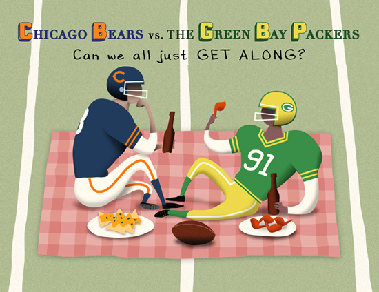 Packers Bears Rivalry Jokes