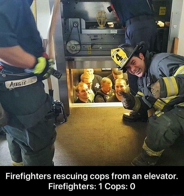 Cop Vs Firefighter Jokes