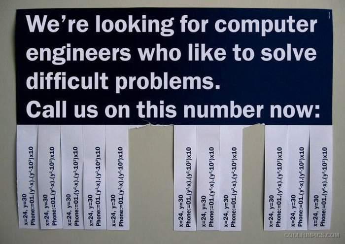 Finding Computer Engineer Cool Fun