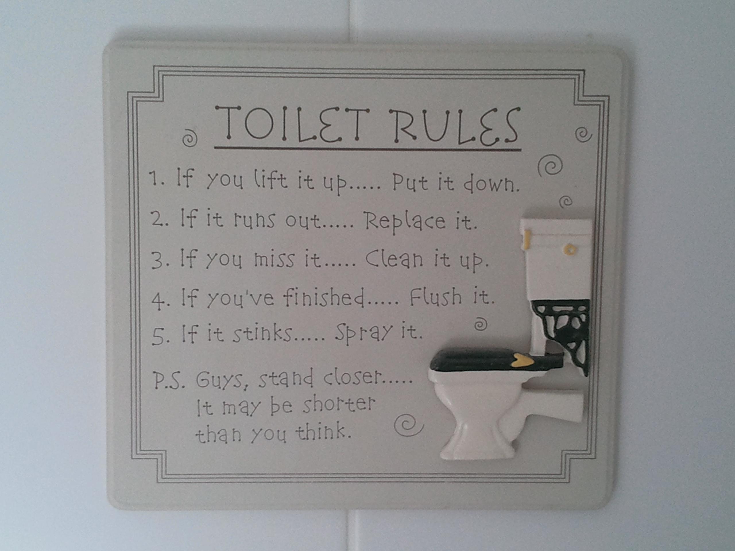 Clean Toilet Jokes